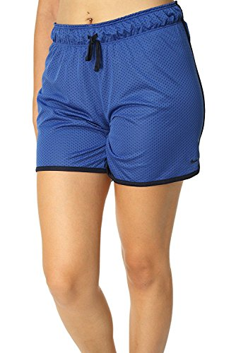 Nike Women's Drill Mesh Shorts Small Game Royal/Obsidian/Obsidian