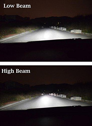 Amazon.com: Alla Lighting 2pcs Super Bright 6500K White H11 H11LL LED Headlight Bulbs for Low Beam Headlamp Conversion Kits Lamps for 2011 2012 2013 2014 ...