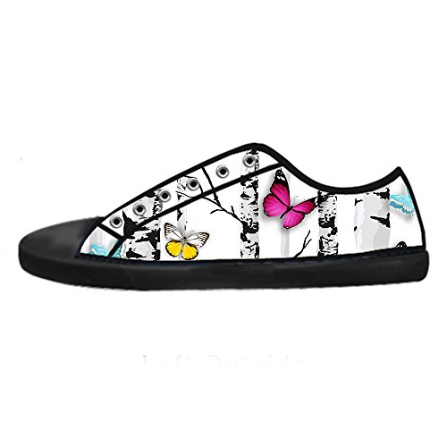 Shoes Tela In Alto Sopra Custom Ginnastica Men's Da I Flying Butterfly Colore Canvas Lacci Di Delle Le Scarpe qvXATq