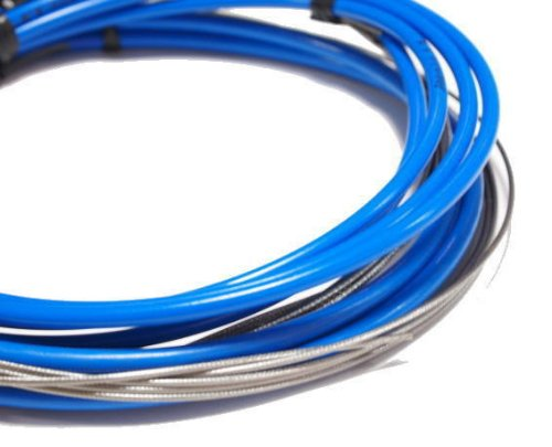 Jagwire Road Pro Complete Shift and Brake Cable Kit Sid Blue, One Size