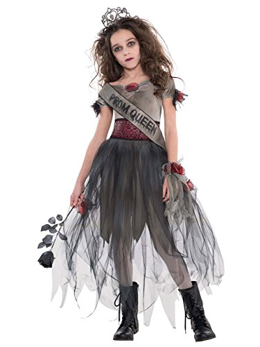 Cemetery Angel Halloween Costume (AMSCAN Prom Corpse Costume Halloween Costume for Girls, Medium, with Included)