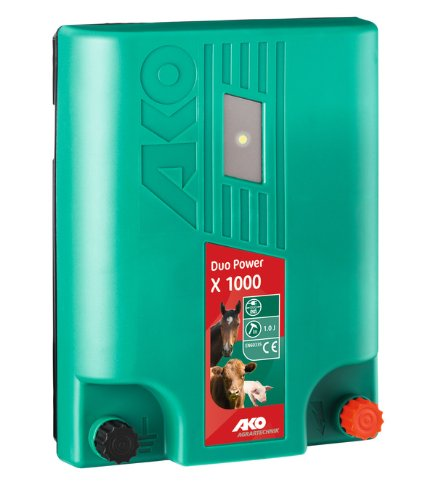 AKO DUO-POWER X1000, 12 V, incl. Netzadapter
