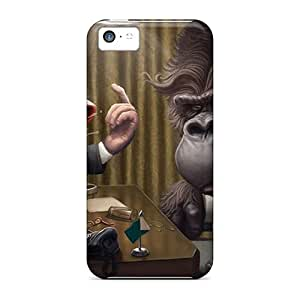 Case Cover Monkey Busines/ Fashionable Case For Iphone 5c