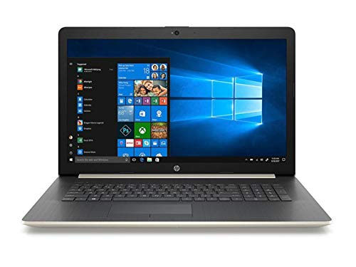 2019 HP Laptop Computer – 8th Gen Intel Core i3 8130U Up to 3.4GHz – 17.3″ HD+, Intel UHD 620 – 4GB DDR4 RAM, 2TB HDD + 16GB PCIe Optane, DVDRW – WiFi, Bluetooth 4.2, USB 3.1, HDMI, Gold – Windows 10