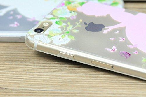 Uming® Copertura di caso della TPU colorful soft modello della stampa Case Cover ( Holding apple - per IPhone 5S 5 5G SE IPhone5S IPhoneSE ) Sacchetto di caso della copertura della protezione del sili