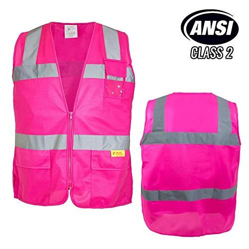 Best pink safety vest for women 3xl list
