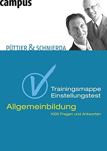 Download Trainingsmappe Einstellungstest Allgemeinbildung PDF