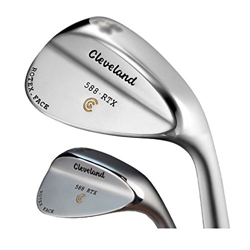 Cleveland 588 Rtx Satin Chrome Wedges Dynamic Gold Steel 14.0 Right 56.0 by Cleveland