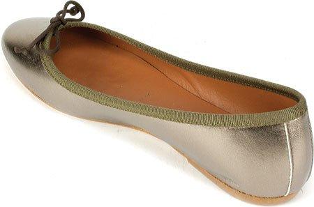 Blanc Sommet De La Montagne Womens Kendall Chaussure Étain Métallique Cuir