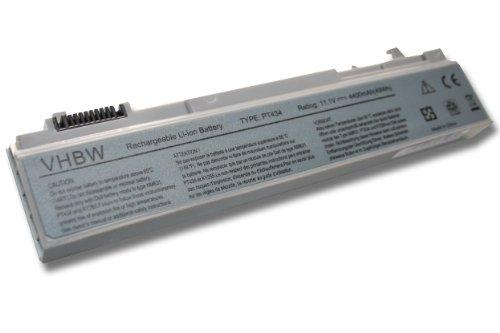 vhbw Li-Ion Akku 4400mAh (11.1V) für Notebook Laptop Dell Latitude E6400 ATG, E6400 XFR, E6410, E6410 ATG wie PT434, PT435, PT436, PT437, KY477.