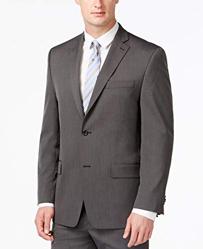 Michael Kors Blazer Grey Birdseye Two Button New Men's Sport Coat (38 Regular) ()