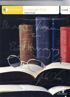 Language Arts 600, Teacher's Guide (Lifepac) by Alpha Omega Publications (AZ)