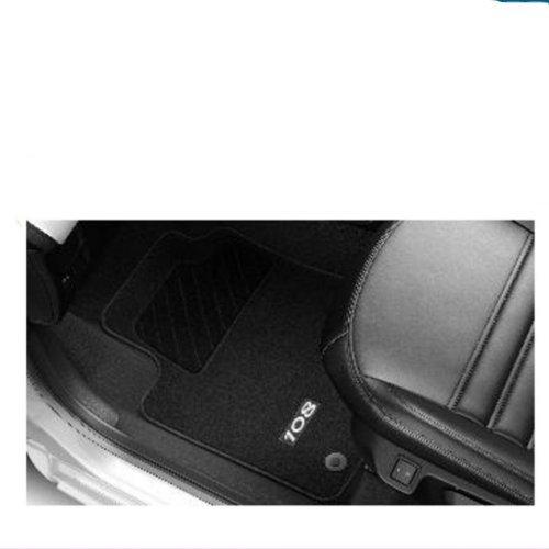 Genuine Peugeot 108 Tailored Carpet Car Floor Mats Set, Front & Rear 1610821780