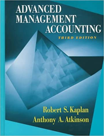 Advanced management accounting 3rd edition robert kaplan anthony advanced management accounting 3rd edition robert kaplan anthony a atkinson 9780132622882 amazon books fandeluxe Image collections