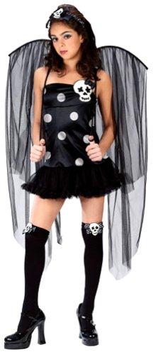 Fun World Junior's Teen Skull Fairy Costume