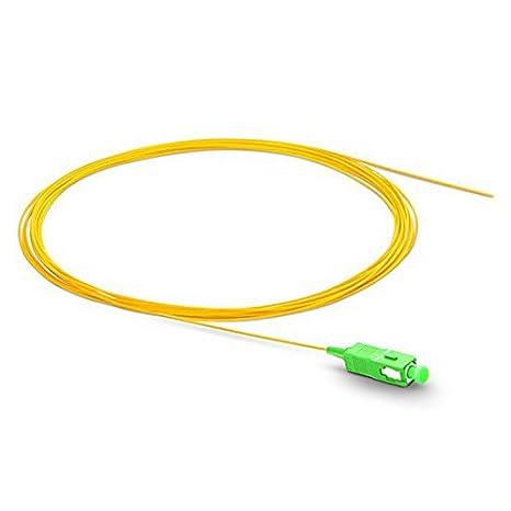 LC SC FC St Singlemode Simplex 1/m Fibre Optique Pigtail LC//APC 2.0mm