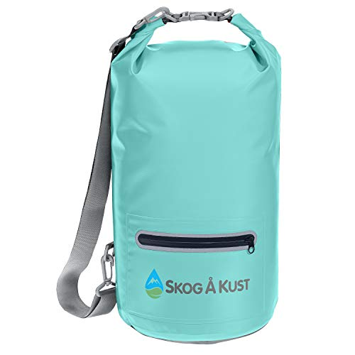 - Såk Gear DrySak Waterproof Dry Bag |10 Liter, Mint