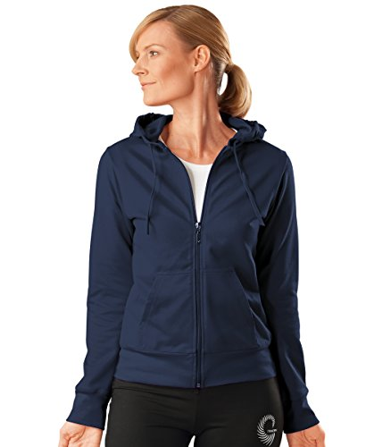 sport femmes de Trigema veste bleu pour B4anEnzqwU