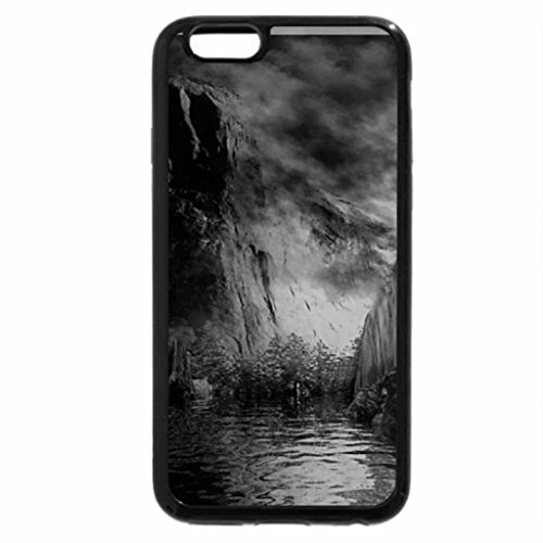 iPhone 6S Plus Case, iPhone 6 Plus Case (Black & White) - Beautiful Fantasy Nature