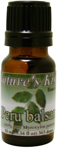 Nature's Kiss Products Peru Balsam Therapeutic Grade 10ml Pure Essential Oil, 0.34 Fluid Ounce