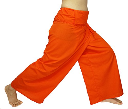 6e670c182c3 Lovely Creations Jumbo Size Man Women Thai Fisherman Wrap Pants Toray Wild  Leg Baggy Yoga Casual