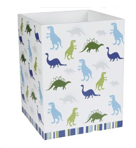 Kassatex Dino Park Waste Basket-Multicolor ()