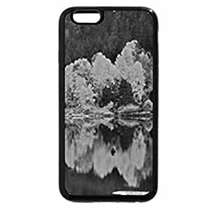 iPhone 6S Case, iPhone 6 Case (Black & White) - A LITTLE OF AUTUMN'S BLUE AND GOLD
