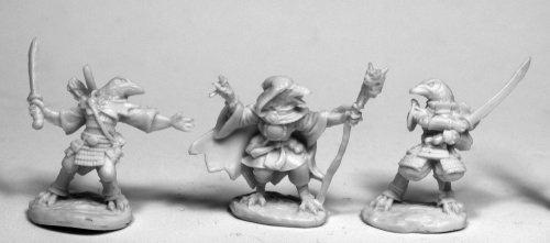 Reaper Miniatures Tengu #77471 Bones Unpainted Plastic Mini Figure by Reaper