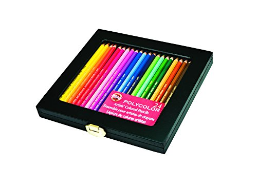 Koh I Noor Polycolor Drawing Assorted FA3818 24WB