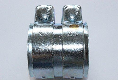Auspuff universal Rohrverbinder gasdicht, schraubbar 70 x 80 mm Gonwil Autoteile