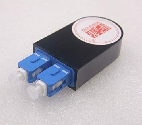 Gimax 10PCS NEW SC/APC SM Single Mode Optic Fiber Loop Back Connector Flange Adapter Coupler Test Connector - (Color: SC UPC, Connector Type: Optic Fiber, Insert Type: Male -