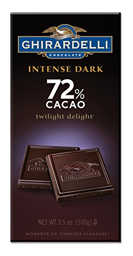 (Ghirardelli Chocolate Intense 72% CacaoBars - 3.5 oz - 6 pk )