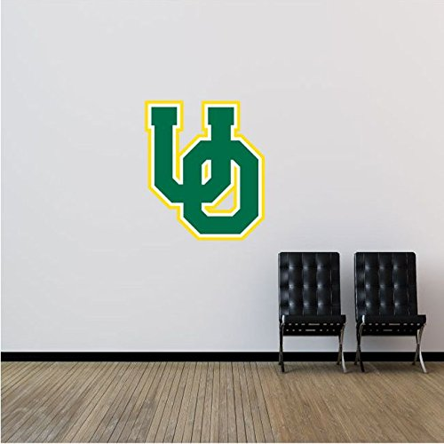 Oregon Ducks NCAA USA Logo College Sport Art Wall Decor Sticker 22'' x 25''