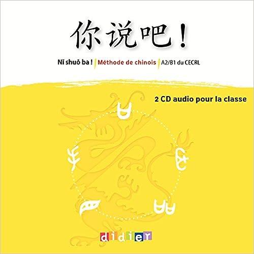 Como Descargar Libros Gratis Ni Shuo Ba ! Niv.a2/b1 - Coffret Cd Classe Formato PDF