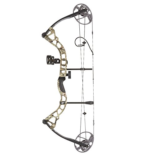 Diamond Archery Prism Right Hand 5-55# Compound Bow, Breakup Country