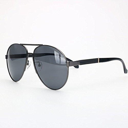 TIANLIANG04 GUN Gradiente Gris GRAY Gafas Hombre Polarizadas Polaroid Gafas Rayos Anteojos Vintage Lentes Sol De Calurosos Pistola De rZxq46warn