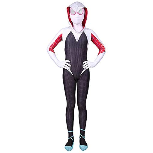 Kids Toddler Superhero Costume Jumpsuit Bodysuit Black Tights Zentai Costume