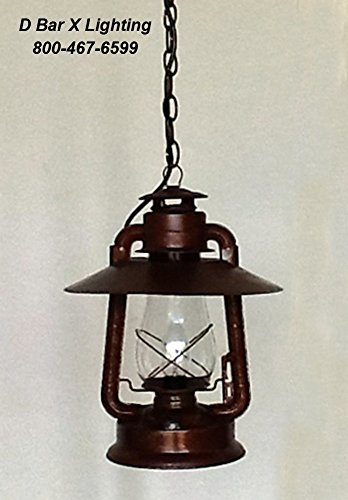 DX736-15 - 15-inch Dietz Blizzard Electric Lantern Pendant Light with Reflector
