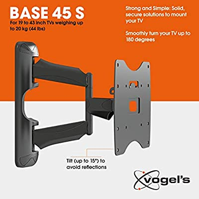 Vogels BASE 45 S, Soporte de pared para TV 19: Amazon.es: Electrónica