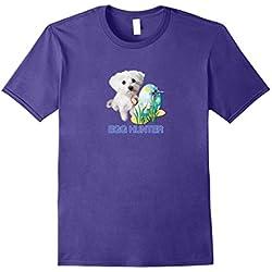Maltese Dog Easter Tshirt Lovers Egg Hunter Cute Gift