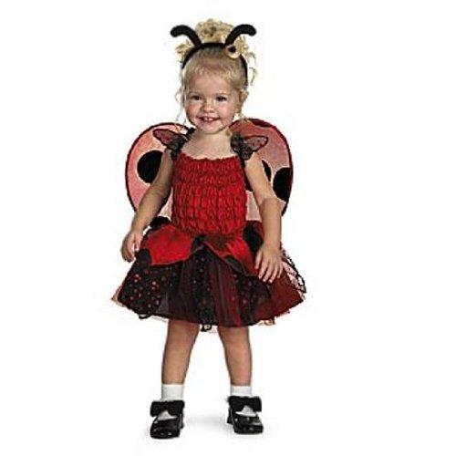 Disguise Babybug Ladybug Toddler Costume, 2T