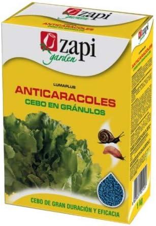 ZAPI Cebo en gránulos 500g para controlar Caracoles y BABOSAS