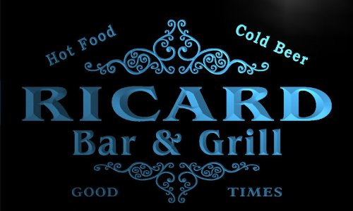 u37462-b-ricard-family-name-bar-grill-home-brew-beer-neon-sign
