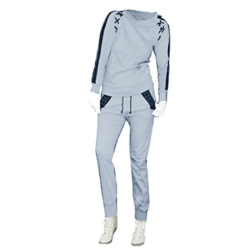 Price comparison product image New Kids Girls Plain Trouser Sweatshirt Tracksuit Lounge wear Set Age: 7-13 Year (11-12 Years, Grey)