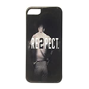 iPhone 5c Kustomyze Case Black - Derek Jeter RE2PECT Respect New York Yankees