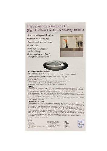 046677426118 - Philips 426114 8-Watt (50-Watt) PAR20 LED Indoor Flood Bright White Light Bulb, Dimmable carousel main 3