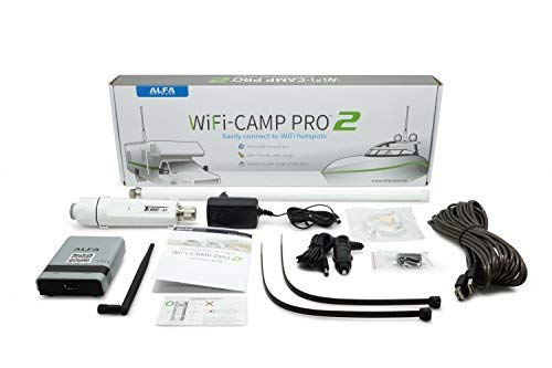 Alfa WiFi Camp Pro 2 long range WiFi repeater RV kit R36A/Tube-(U)N/AOA-2409-TF-Ant by ALFA Networks
