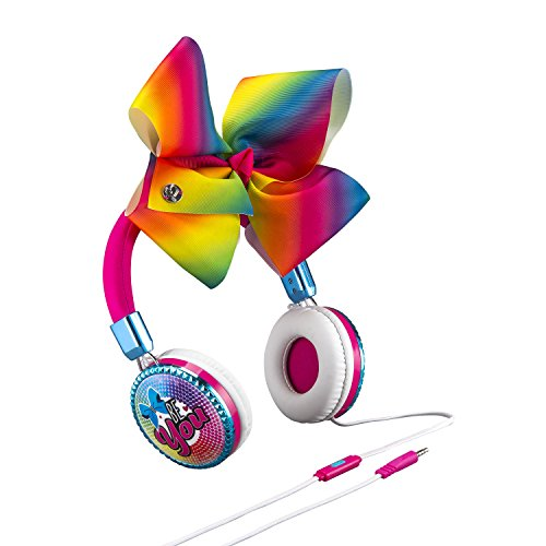 JoJo Siwa Bow Fashion Headphones with built in Microphone by eKids (Image #1)