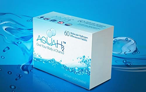 Molecular Hydrogen Tablets | 60 Hydrogen Water Tablets by Aquah2