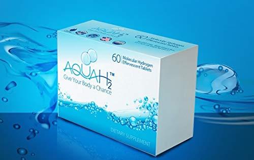 (Molecular Hydrogen Tablets | 60 Hydrogen Water Tablets by Aquah2)